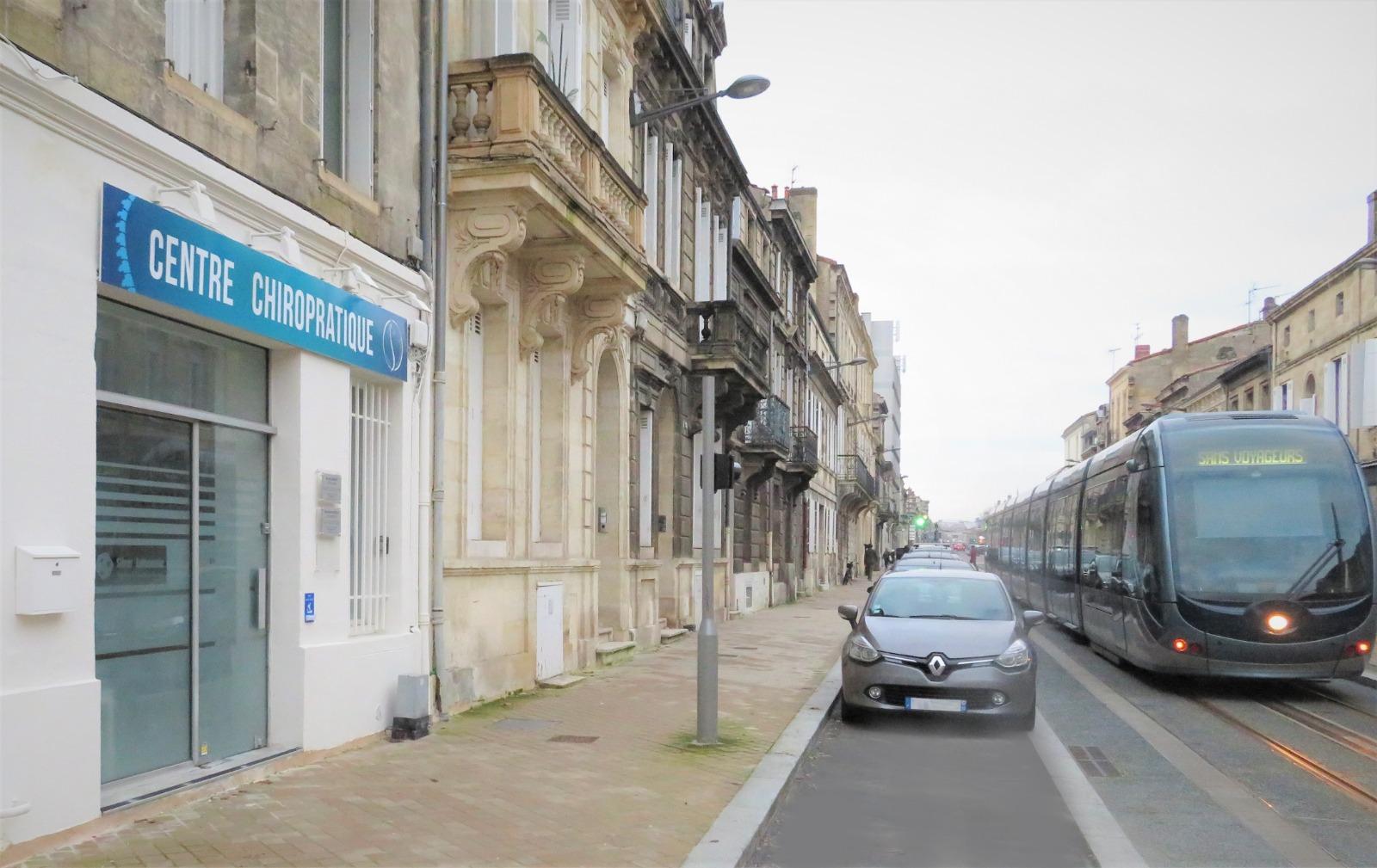 Façade du Centre Chiropratique Bordeaux